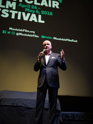 Governor Phil Murphy speaks at the Montclair Film Festival on May 5.