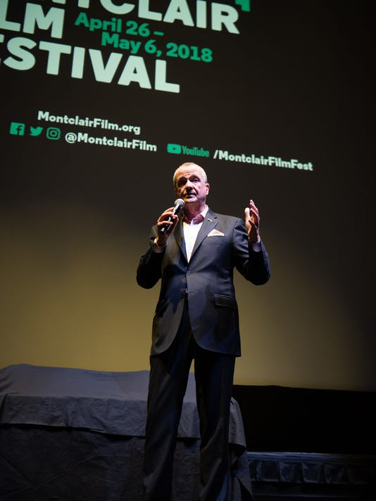 PHIL MURPHY AT MONTCLAIR FILM FESTIVAL