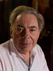Andrew Lloyd Webber poses for a photo during an interview