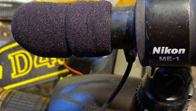 Inexpensive Nikon ME-1 microphone windscreen replacement
