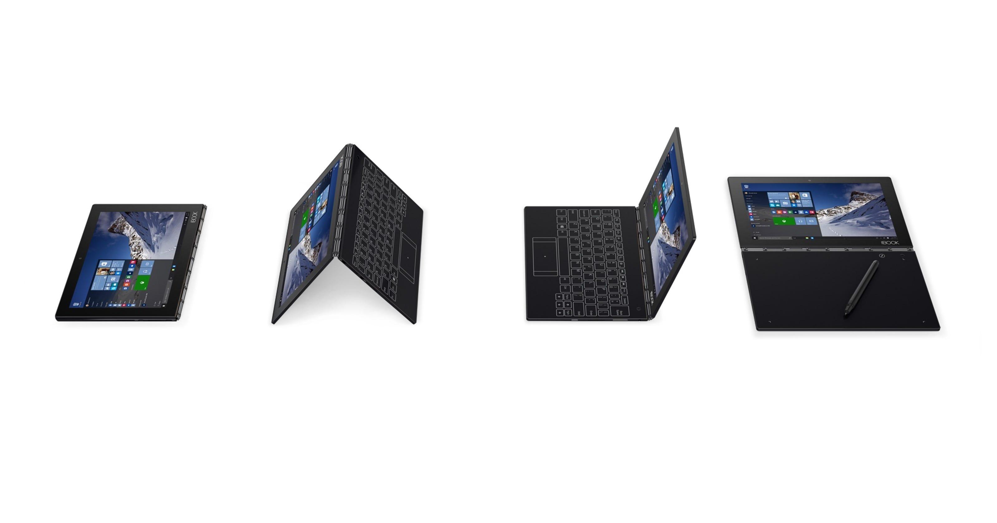 Lenovo Yoga Book tablet: innovative but unsatisfying