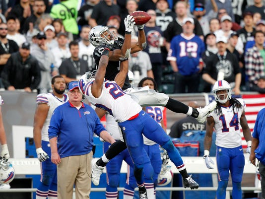 NFL: Buffalo Bills at Oakland Raiders