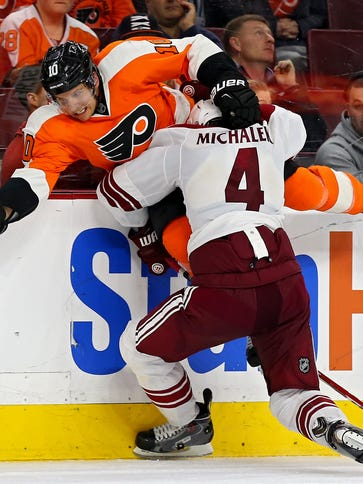 Zbynek Michalek has not played since Feb. 14 because