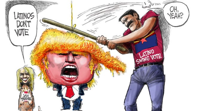 Cartoon for Oct. 26, 2016.