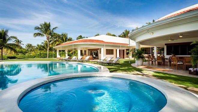 Dom Republic Villa Cielo Azul pool credit Casa de Campo Resort & Villas