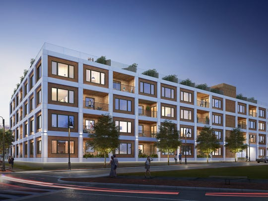 The Monroe Condominiums will have 34 units. The project