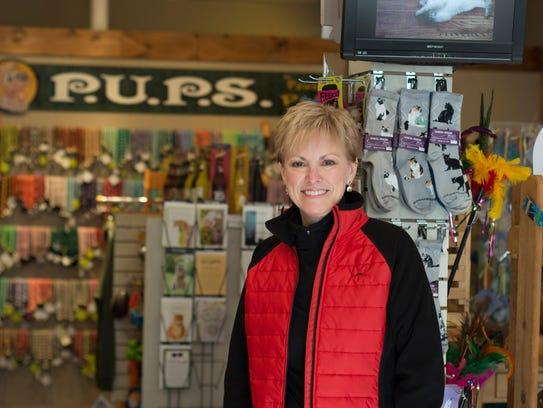 New P.U.P.S. of Lewes owner Linda Madrid.