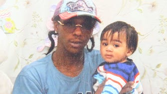 Sylville Smith with his son of the same name age 2.