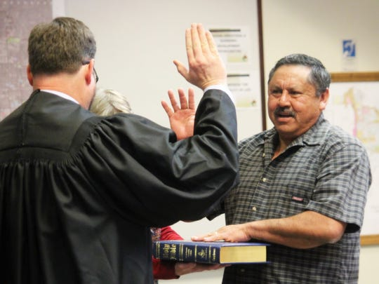 Al Hernandez, commissioner of District 5, was sworn in on Tuesday and elected by his peers as Mayor Pro-Tem.