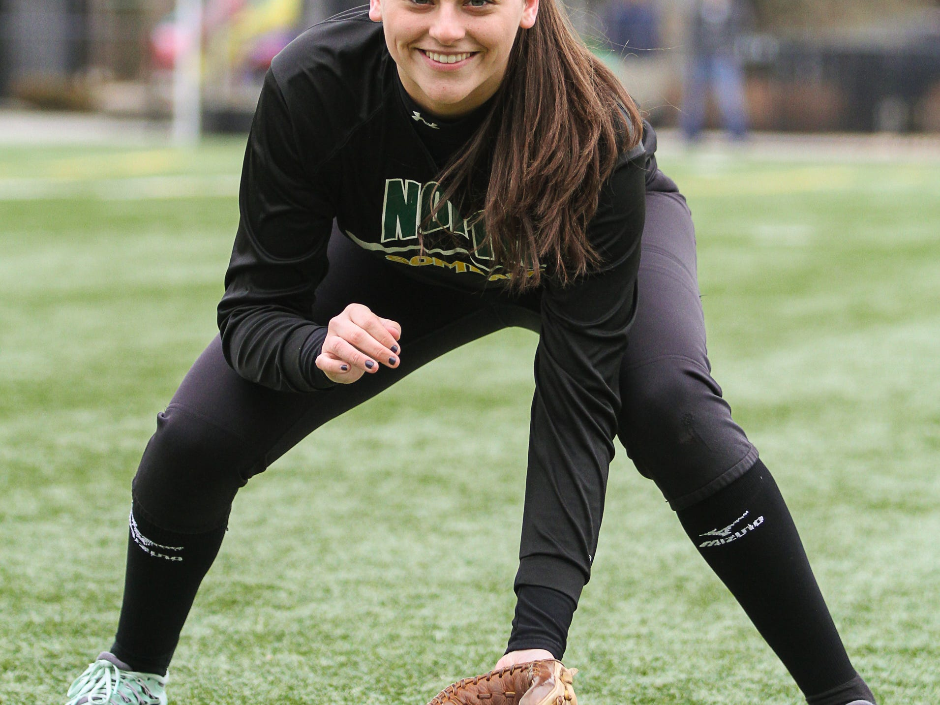 North Hunterdon senior shortstop Carly Severini is the Courier News Softball Player of the Week