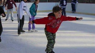 Weekend includes plays, ice skating