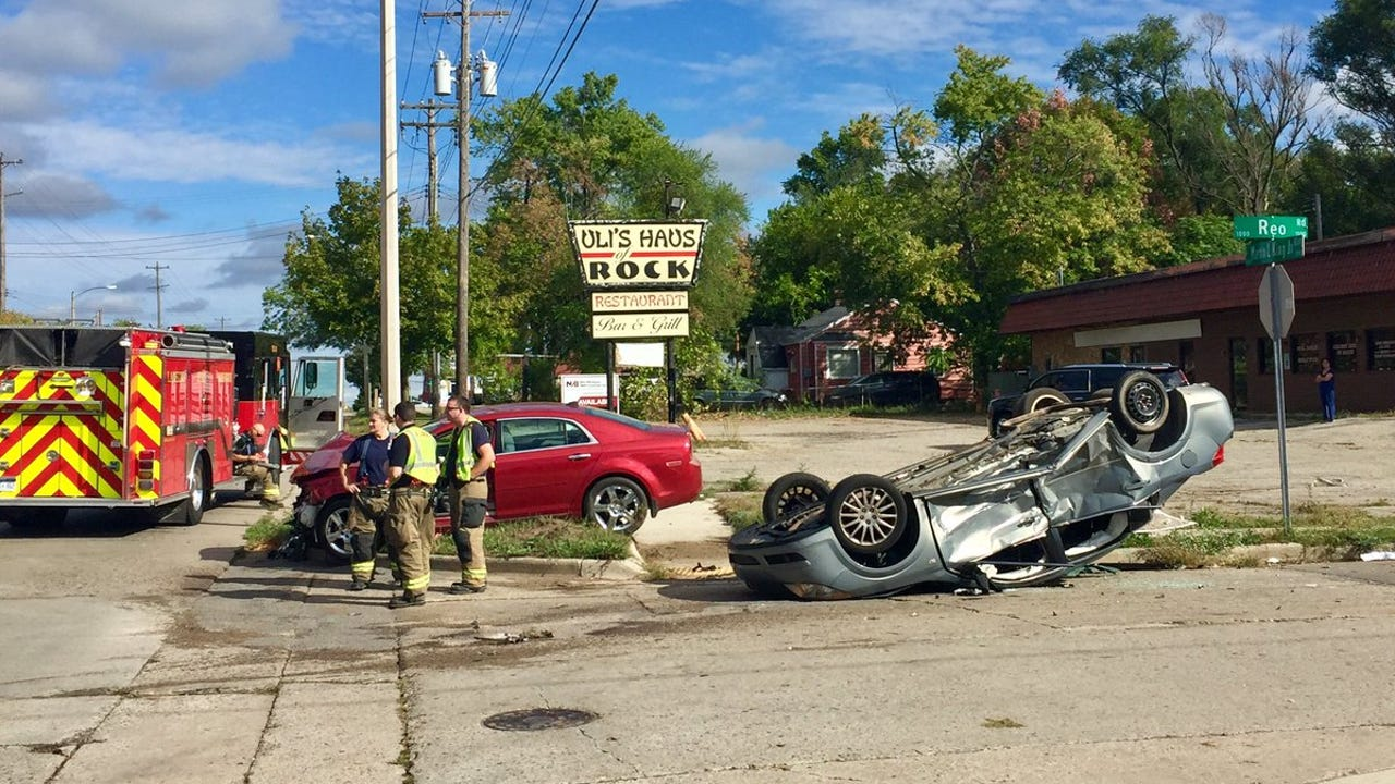 Two passengers from the silver vehicle and the driver of the red car were transported to the hospital, McCallister said.