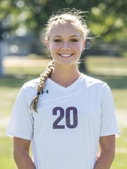 Amber Orndorff, Shippensburg girls soccer