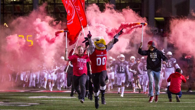 FCS playoffs: Weber State at Southern Utah, Saturday, December 2, 2017, in Cedar City, Utah. Final score: WSU 30, SUU 13.