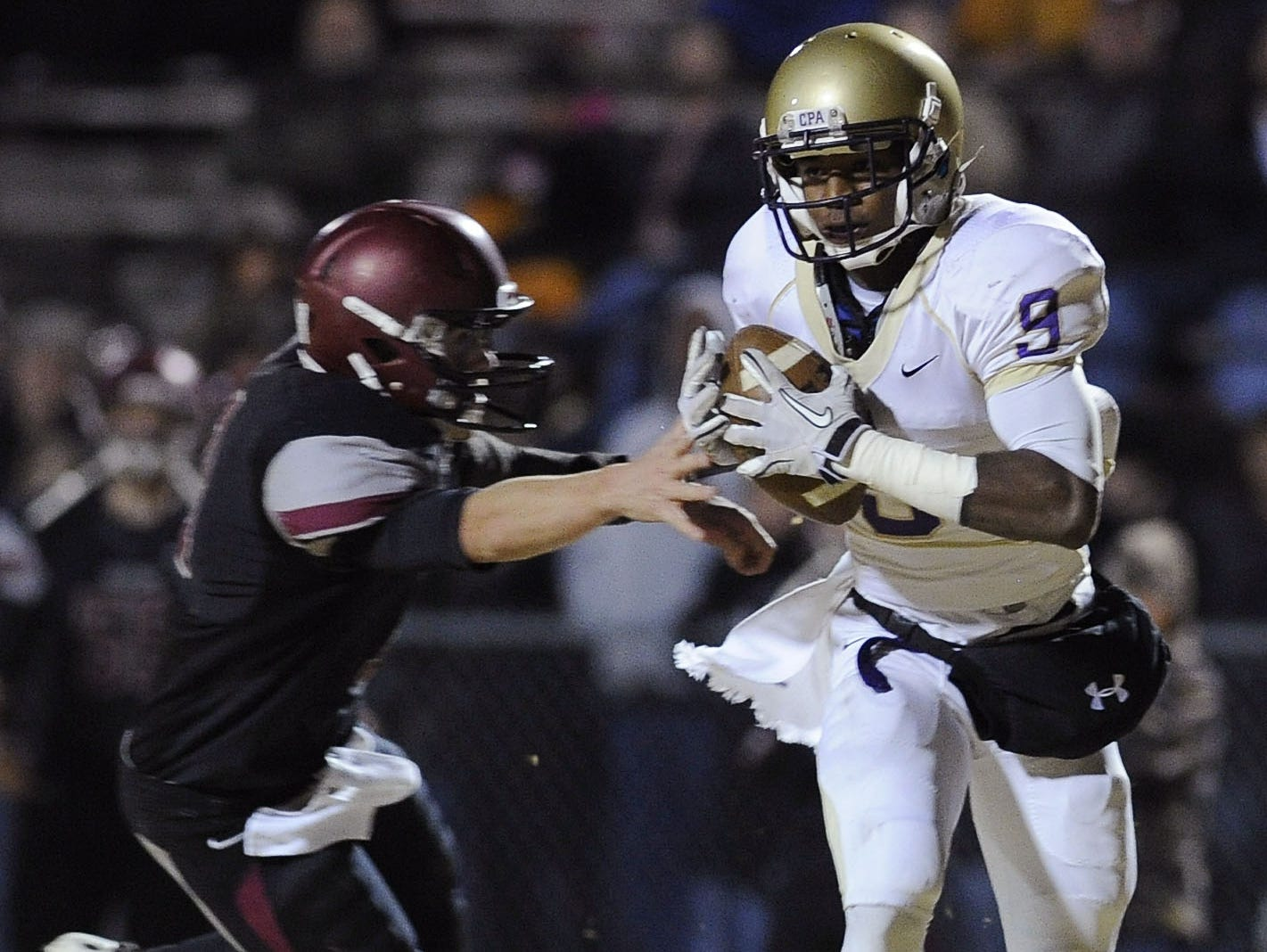Former CPA and current Missouri wide receiver Thomas Richard.