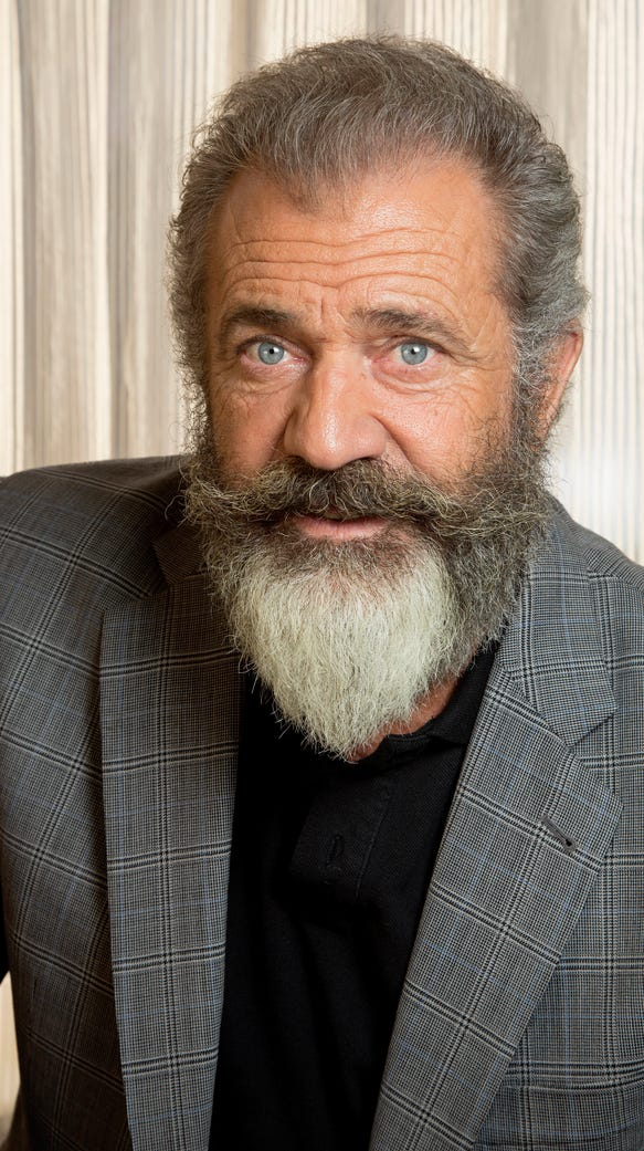 Mel Gibson was nominated for a directing Oscar for