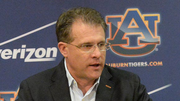 Gus Malzahn will hold a press conference today.
