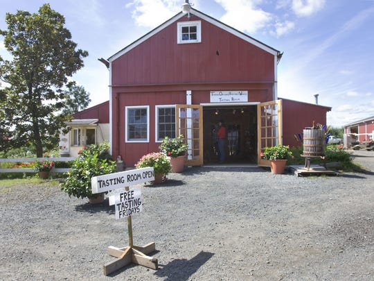 In addition to growing apples, Terhune Orchards, located about 4 miles from downtown Princeton, produces 12 varieties of wine on nine acres.