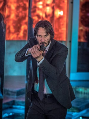 """In """"John Wick: Chapter 2,"""" the title character (played by Keanu Reeves) has a way with a weapon."""