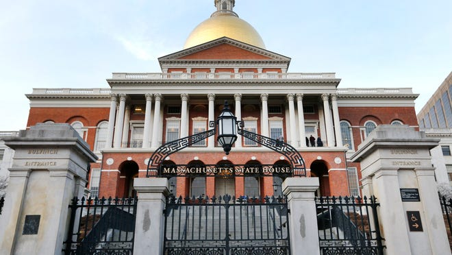 This Wednesday, Jan. 2, 2019 shows the Massachusetts Statehouse in Boston.