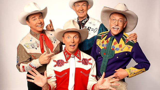 The group Riders in the Sky tips its hat to cowboy music and will do so Dec. 18 at the Wichita Theatre.