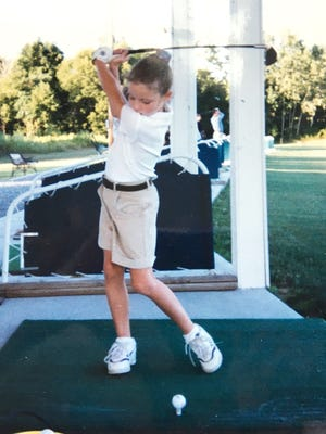 """Tessa Teachman she """"lived on the first hole of Webster Golf Course"""" when she was younger."""