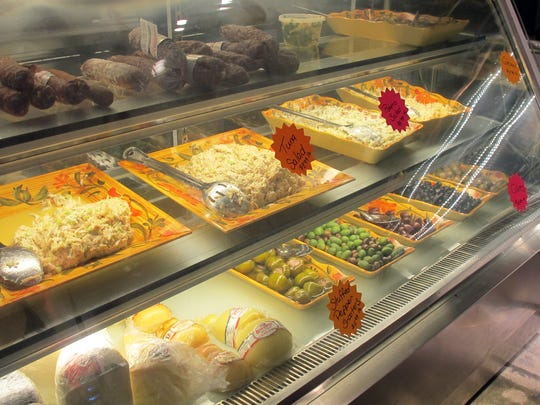 Grab-and-go prepared foods, meats, cheese and olives are available at Frankie's Italian Deli in East Naples.