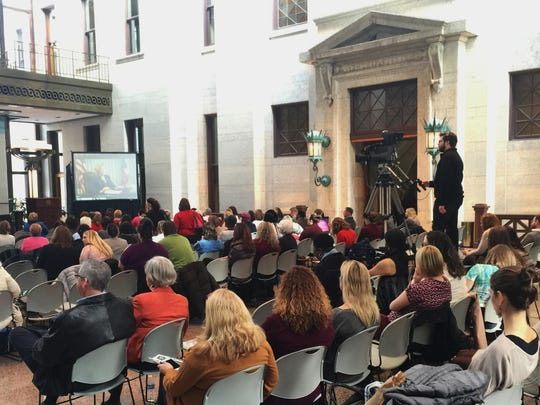 """""""Shadow in the Heartland"""" premiered earlier this month at the Ohio statehouse."""