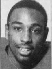 Kevin Harvey, one of South Jersey's best-ever football stars, in a file photo from 1995.