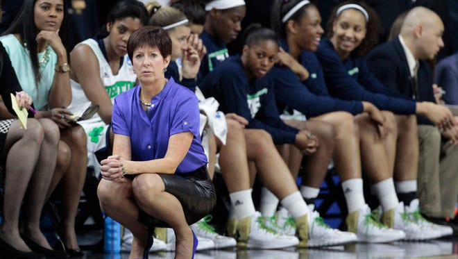 Muffet McGraw has guided the Irish to four straight Final Fours.
