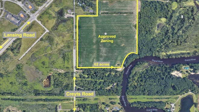 Here's a look at the site for Harvest Park, a 130-acre marijuana facility in Windsor Township.
