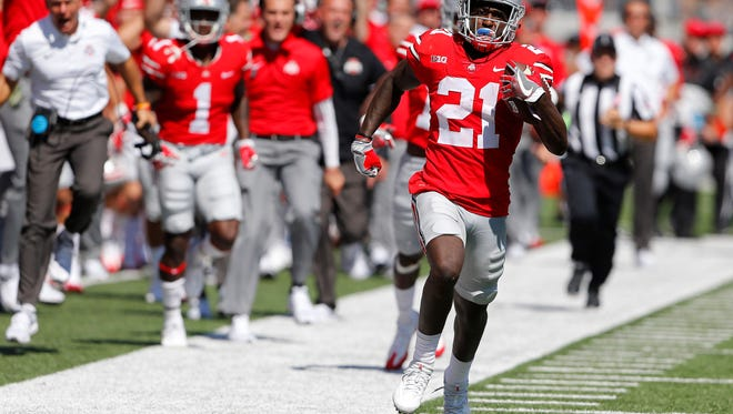 Will Parris Campbell develop into a deep threat for the Buckeyes or will he simply be that catch-and-run guy?