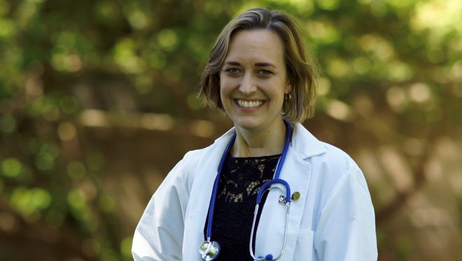 Sarah Bucic, a Wilmington resident, has been a registered nurse since 2001 and has a master's degree from the University of Pennsylvania in psychiatric mental health nursing.