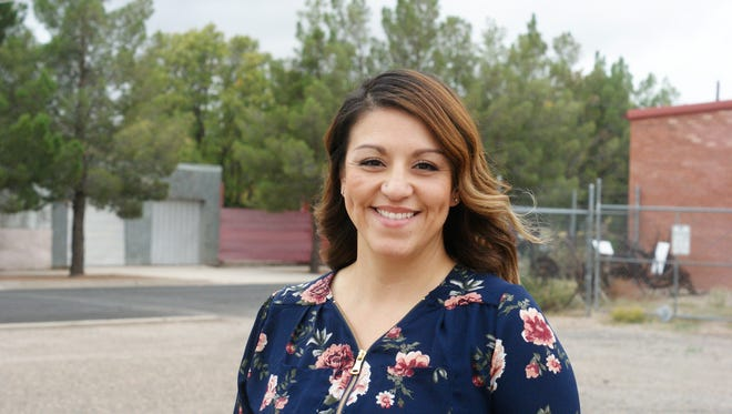 Sophia Cruz, pictured in September, has been appointed to the Deming school board following the resignation of Francine Jacobs.