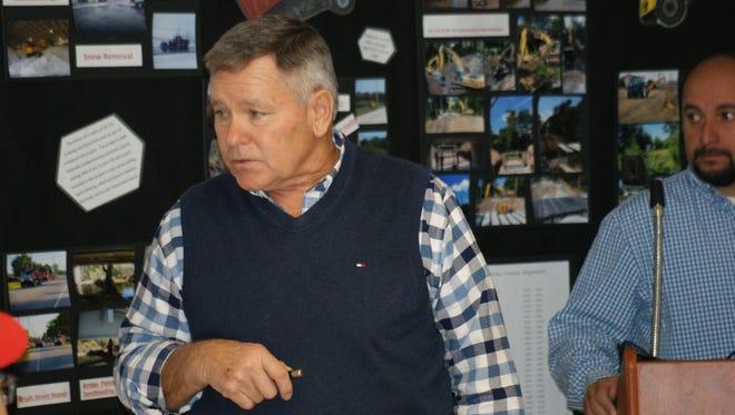 Sandusky County Engineer Jim Moyer.
