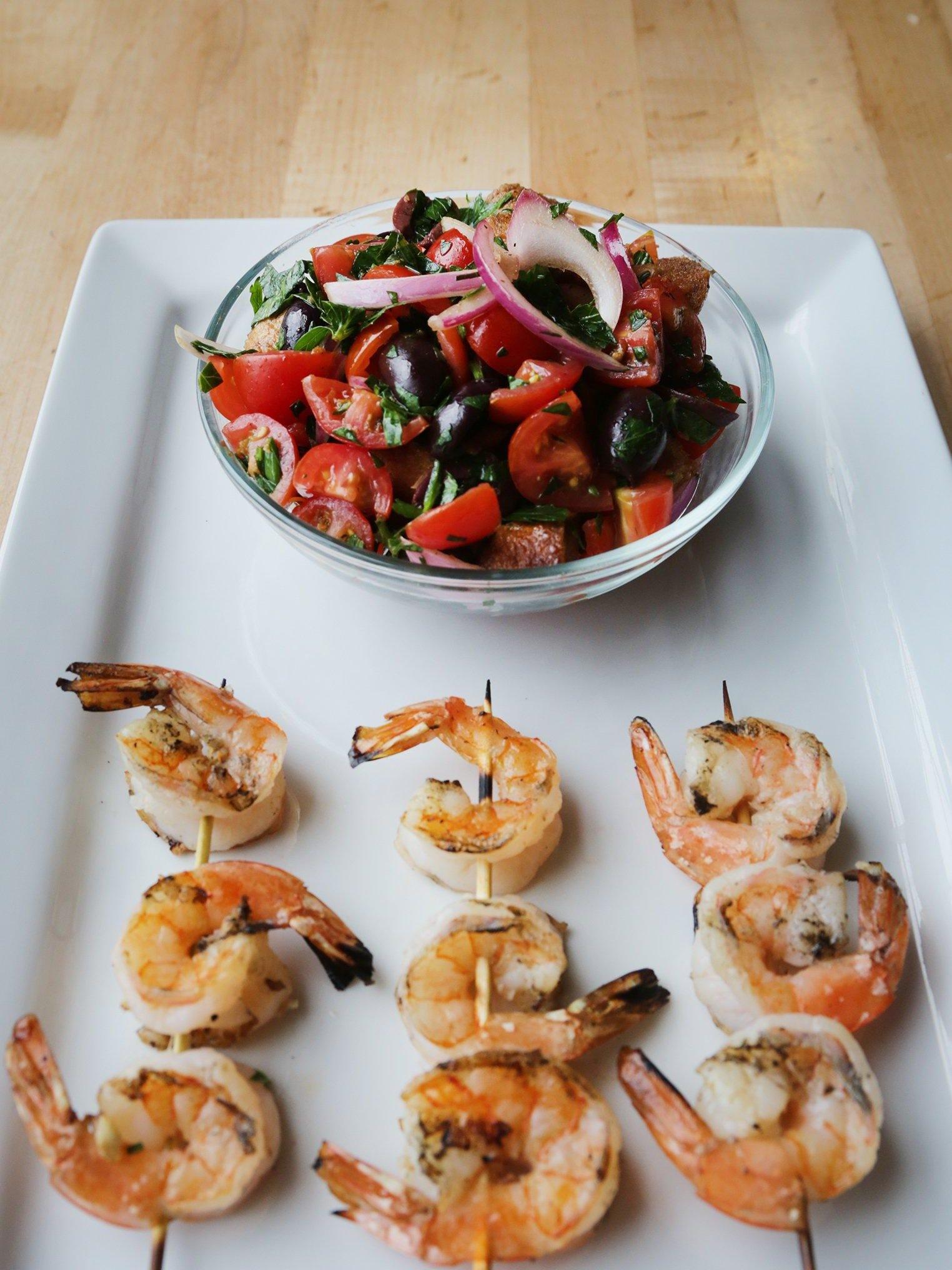 is shrimp on the mediterranean diet