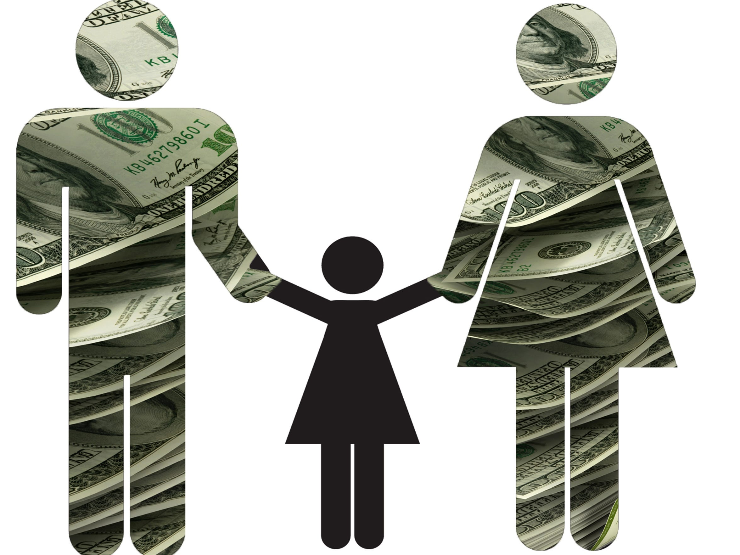 Raising a child after divorce can be financially challenging,