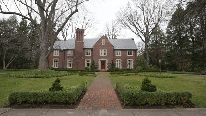 The mansion at 380 Ambassador Drive in Brighton is listed by Hunt Real Estate for $2 million.