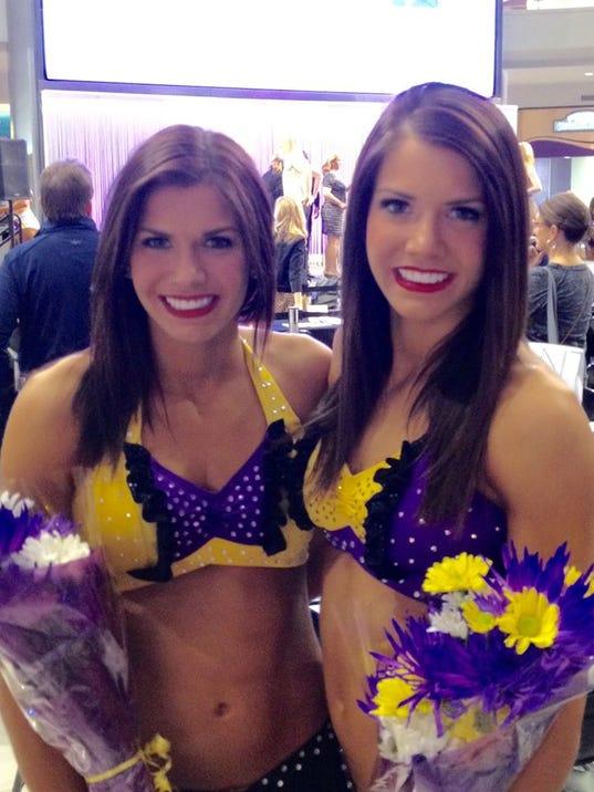 Sioux Falls Sisters Join Vikings Cheerleaders