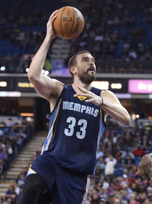 Marc Gasol (33) is the top free agent on the market after this season.