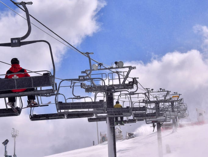 Ski enthusiasts can still carve up the snow at Mt.