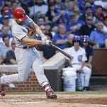 Carpenter, Holliday homer as Cardinals beat Cubs 4-3