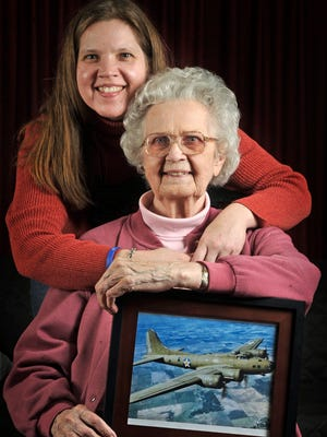 Elsie Ledbetter, 92, now lives in Goodlettsville. During World War II, she worked at a factory making parts for B-17 bombers. Amanda Stubblefield, her granddaughter, went on to a career at NASA.