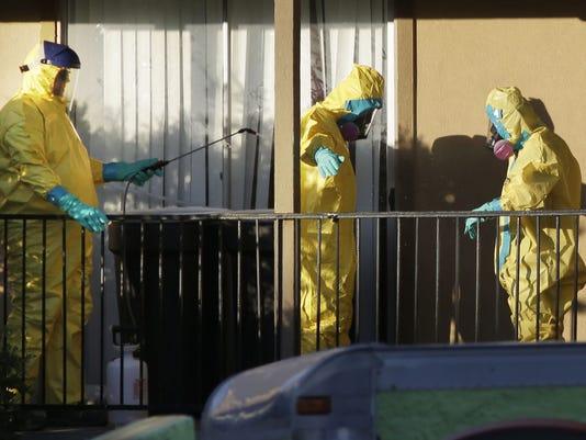 Ebola patient apartment