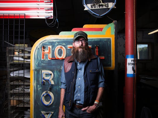 Christian rocker David Crowder will play at Grand Canyon University Arena in Phoenix on April 8, 2018.