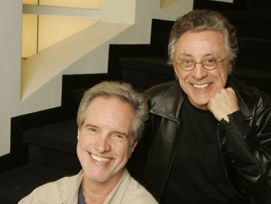 Bob Gaudio and Frankie Valli