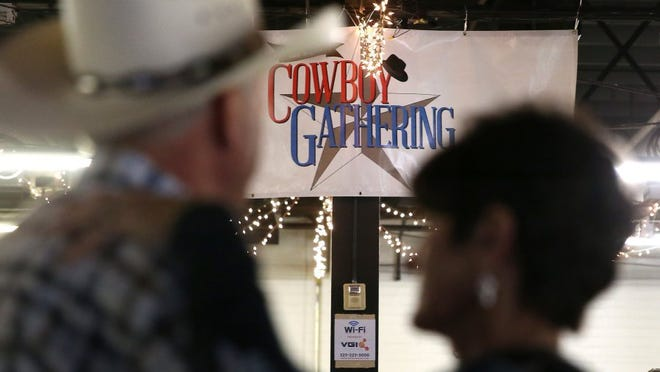 Dancers from all over Texas, several other states and even Canada come to dance and enjoy the music at the San Angelo Cowboy Gathering.