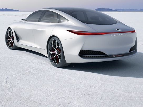 Infiniti has given the first look at the Q Concept