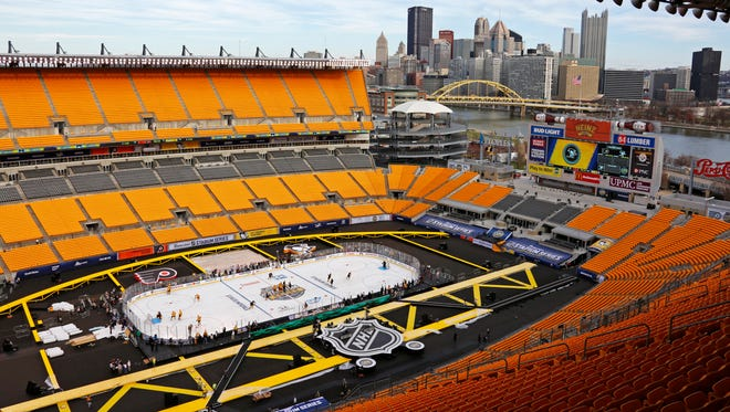 The Flyers will play their third outdoor game in franchise history Saturday, but would love to avoid the fanfare.