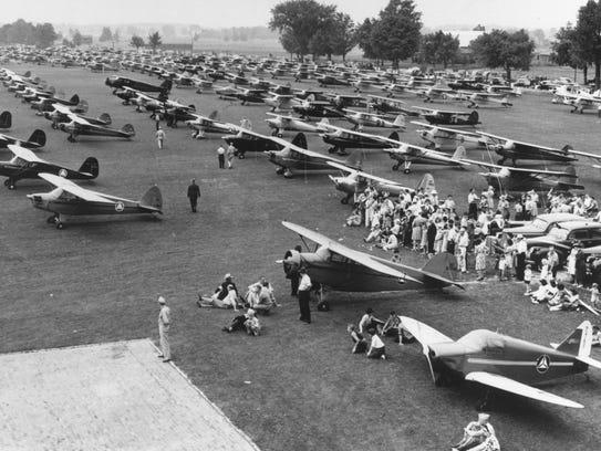World War II CAP aircraft.